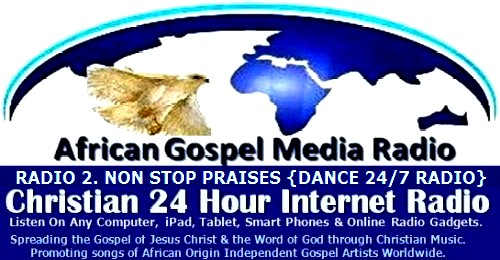 African Gospel Media Radio. Christian 24 Hour Internet Radio. Home of Quality Christian Praises and Worship. Supporting Independent Gospel www.agmradio.org. Artists Worldwide